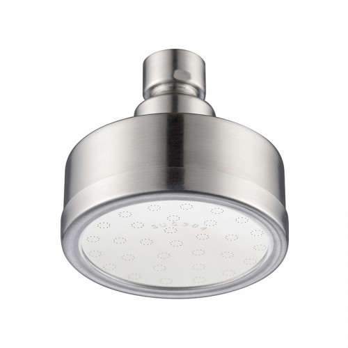 Silicone Shower Head, Stainless Steel Rainfall, High Pressure Fixed Showerhead, 360°Adjustable Shower Head For Bathroom
