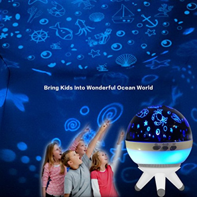 Night Lights For Kids Night Lighting Lamp Projector Lamp Household