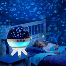 Night lights For Kids - Night Lighting Lamp - Projector Lamp-Household Lamps- 3 free PROJECTOR THEME.Happy Birthday, Ocean World, Spacewalk