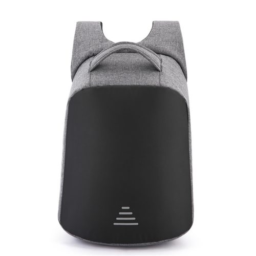 "USB Charging Anti-theft Waterproof Backpack - Dark Grey -15.6""laptop"