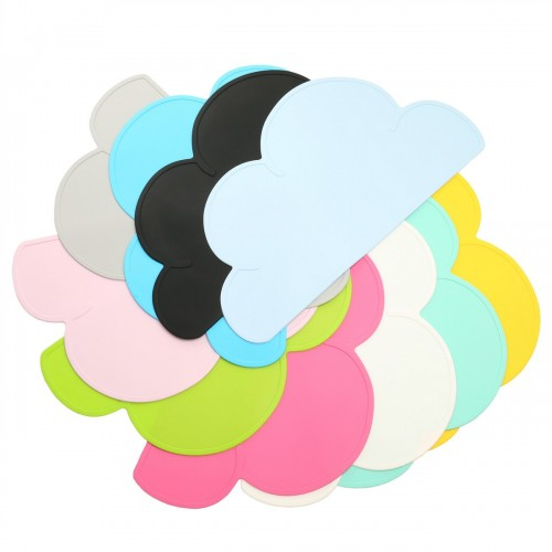Silicone Cloud Tablemat Placemat Heat Insulation Mat Set of 4