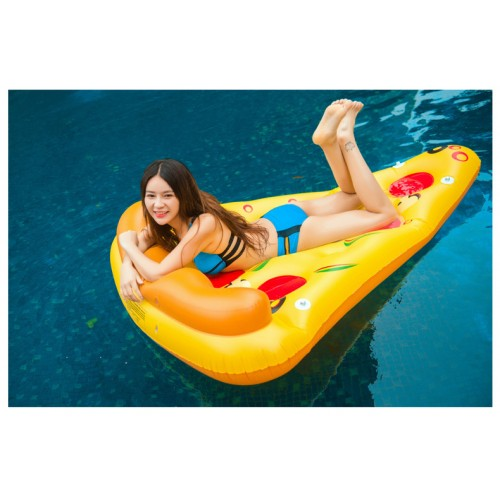Giant Inflatable Pizza Slice Pool Float Raft Floaty Lounger Pool Toy