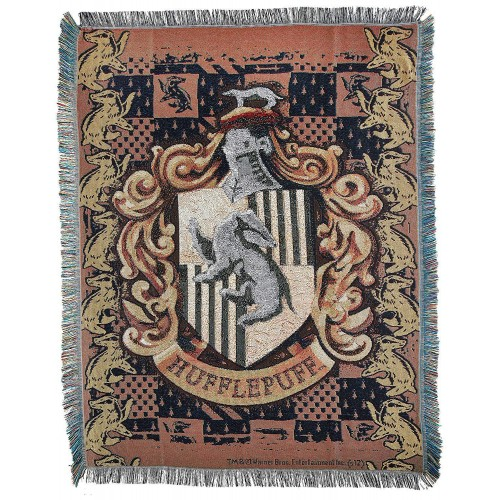 Harry Potter Weaving Wall Tapestry,Hufflepuff