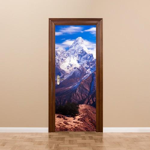 Nepal creative self-adhesive decorative waterproof door stickers