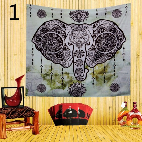 Popular Handicrafts Colorful Psychedelic Animal Bohemian Tapestry