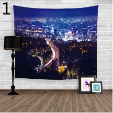 Popular Handicrafts Wall Tapestry,City night scene