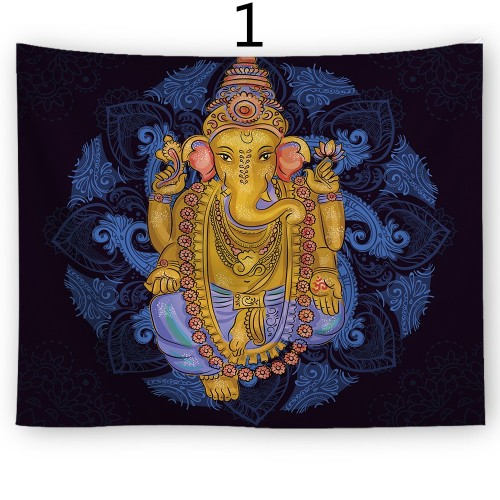 Popular Handicrafts Wall Tapestry,Elephant And Religion