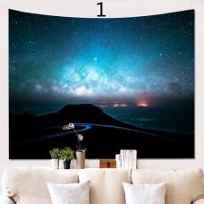Popular Handicrafts Wall Tapestry,Field Night sky Star 1