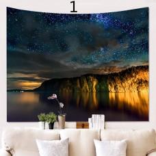 Popular Handicrafts Wall Tapestry,Field Night sky Star 2