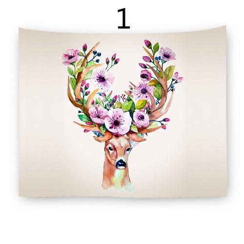Popular Handicrafts Wall Tapestry,Elk
