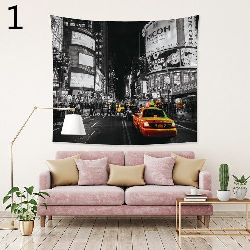 Popular Handicrafts Wall Tapestry,City impression 2
