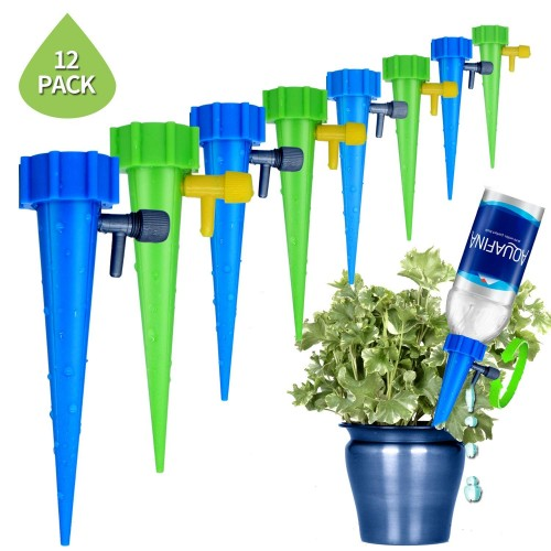 Plant Waterer Self Watering devices Vacation Self Irrigation Plant Waterer 12pcs