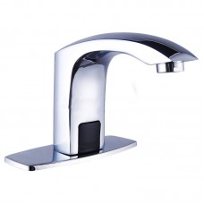 Bathroom touch automatic induction single cold tap