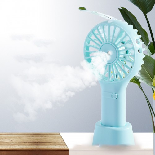 Spray small fan hydrating fan humidifier fan water spray fan