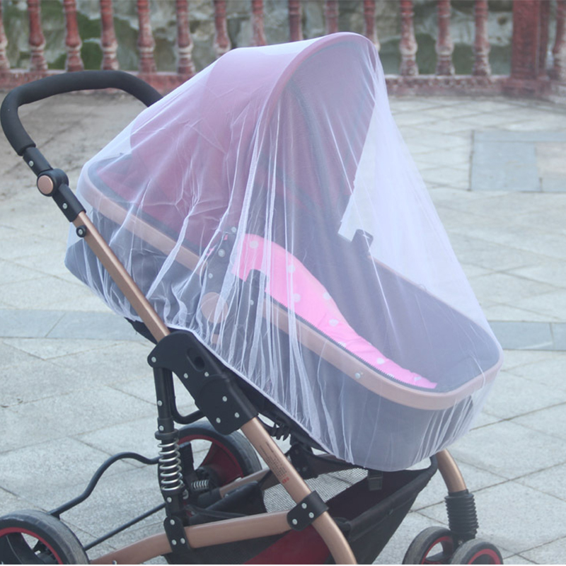 3 Pack Baby Mosquito Net For Strollers Carriers Car Seats