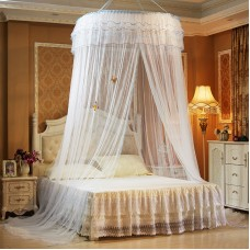 Hanging mosquito net heightening encryption ceiling lace princess dome floor mosquito net