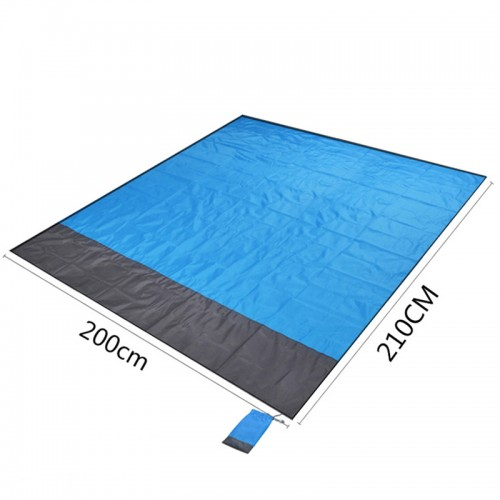 Portable folding beach mat Outdoor camping pocket beach mat beach mat Spring picnic mat