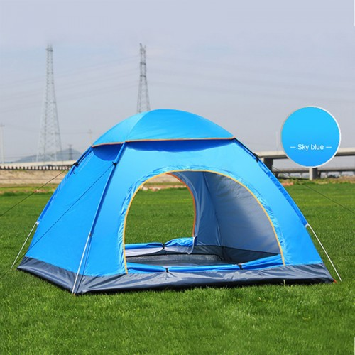 Outdoor camping folding automatic tent beach tent simple speed open