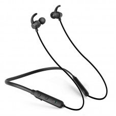 Sports Halter Bluetooth Headset 4.1 Stereo Earbud Metal Headphones