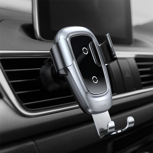 Car wireless charger Car gravity mobile phone holder wireless charger car navigation bracket