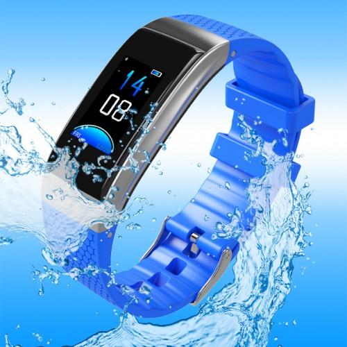 New color screen smart bracelet blood pressure heart rate large screen Bluetooth step counter smart wear sports bracelet