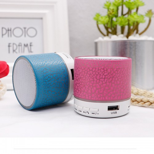 A9 crack Bluetooth audio card mobile phone computer mini subwoofer wireless led light small speaker