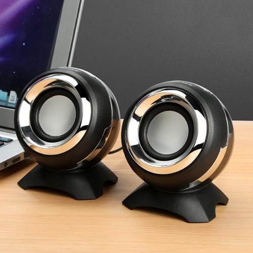 Audio Yazhi Q8 computer speaker notebook mobile phone USB desktop multimedia subwoofer mini speaker