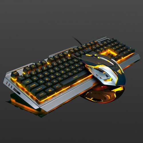 Mechanical hand keyboard and mouse set notebook desktop cable game keyboard