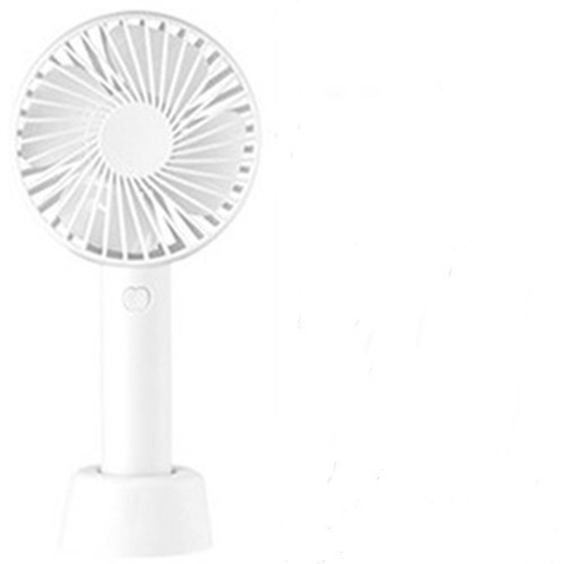 Desktop USB Portable Mini Rechargeable Mini Quiet Student Dormitory Home Away from The Hot GAOFENG Color : White, Size : 1822cm Desk Fan