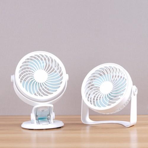 Usb clip fan baby carriage clip fan creative mini silent desktop student fan
