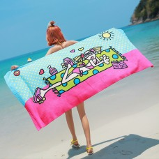 Microfiber Beach Towels for Travel - Ultra Absorbent,Fast Drying Towel for Swimmers,Sand Free Towel,Beach Towels for Kids& Adults 66.9*35 in