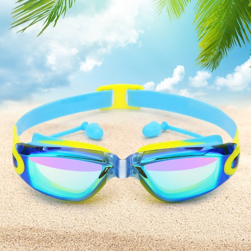 Kids Swim Goggles, Swim Goggles for Kids Swimming Goggles with Anti-Fog UV Protection Lens