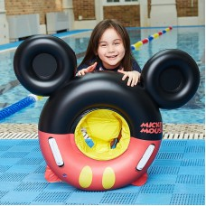Inflatable swimming ring Baby swimming ring Loop With handle Cartoon child Seat Foam cushion Lifebuoy