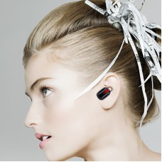 Single Wireless Earbud, V4.1 Mini Bluetooth Earbud, 4-Hr Playing Time Car Bluetooth Headset Invisible Headphone with Mic