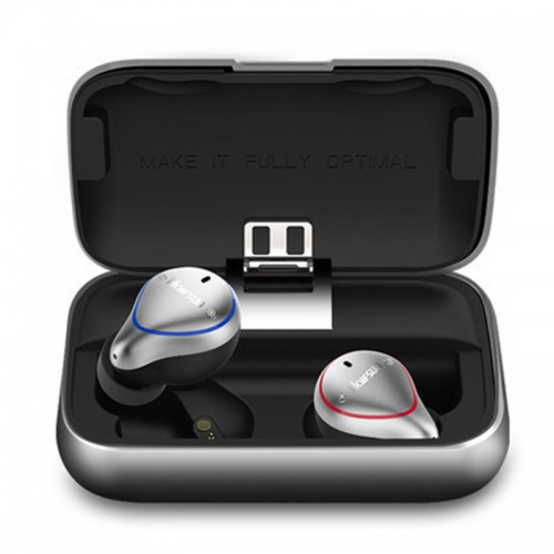 Wireless Earbuds Bluetooth 5.0 True Mini Wireless Dual-Ear Touch Volume Control Headphones Stereo Earphones Ipx7 Waterproof Sports Headset with Charging Case/Built-in Mic