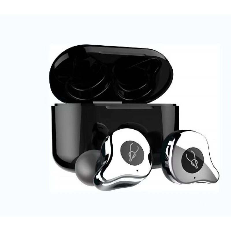 2cbf879ea17bcc True Wireless Earbuds, Bluetooth 5.0 Wireless Headphones Deep Bass Stereo Sound  Noise Cancelling Sweatproof TWS Bluetooth ...