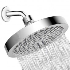 Shower Head - High Pressure Rain - Easy Tool Free Installation - The Perfect Adjustable Replacement For Your Bathroom Shower Heads