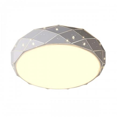 LED Flush Mount Ceiling Light for Bedroom Living Room Indoor Lights Hall Lighting Fixture 3 Colors Dimmable LED Ceiling Light