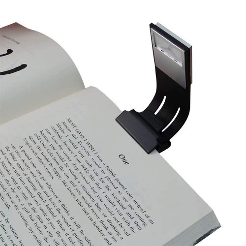 Clip Reading Light,Tough Switch 4 Levels Brightness LED Book Light Multifunctional as Bookmark Desk & Bed Lamp for Reading with Soft Cover and Hard Cover Books,Magazines,eReaders,etc