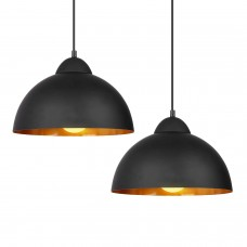 Retro industrial creative personality bar cafe restaurant semi-circular iron chandeliers (excluding light bulbs)