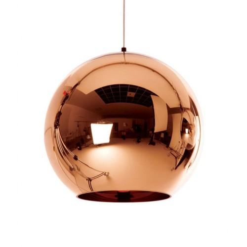Rose Gold Glass Globe Pendant Hanging Lights Nordic Glass Ball Lamp Shade Ceiling Lamp Fixtures Wedding Chandelier for Living Room Bedroom Restaurant KTV