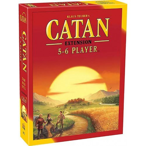 CATAN Catan Island fifth edition Entertainment board game chess 5~6 people extended version, catan basic version,settler of catan version