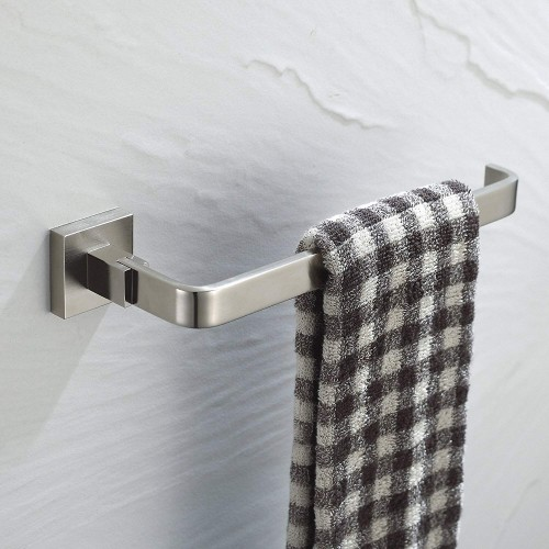 "9.3"" Wall Mounted Towel Bar Finish:Chrome"
