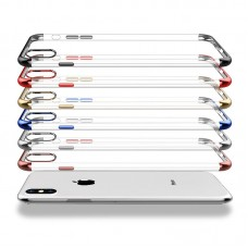 iphone XS MAX / XR / XS / 6/7 / 8PLUS Creative Three-Segment Mobile Shell Cover Silicone Case