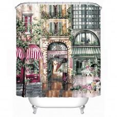 Creative Bath Rue Di Rivoli Shower Curtain,71-Inch x 71-Inch