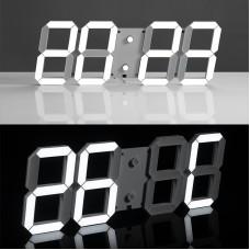 CHIHAI remote control Jumbo digital LED wall clock, Multi-function LED Clock, large calendar, Minute alarm clock, Silent clock