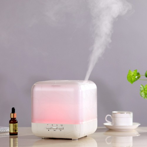 Water Cube 1L Large Capacity Aromatherapy Machine Humidifier Microwave Induction Aerosol Machine essential oil diffuser fragrance lamp