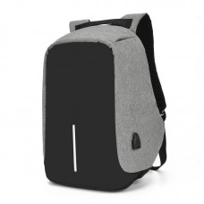 Anti-theft backpack - Gray  USB charging port Paicy™