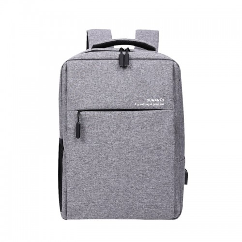 Anti Theft Business Waterproof Travel Laptop Backpack Bag with USB Charge Port for /15.4  inch Notebook-OUMANTU