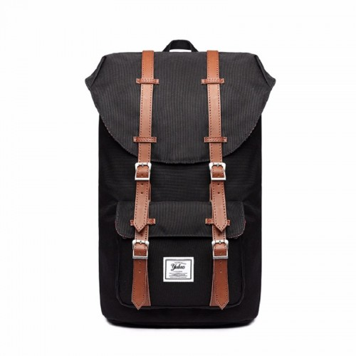 """yuluo Backpack With Magnetic Closure  - Hiking & Travel Backpack w/Waterproof Rain Cover &15""""   Laptop Compartment -Classic Backpack One Size"""
